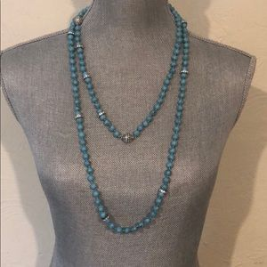Chloe and Isabel long turquoise necklace